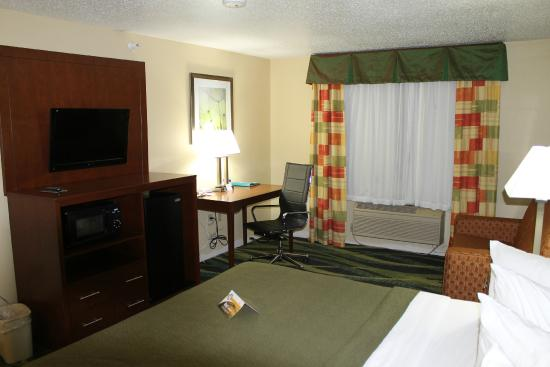 Quality Inn & Suites: business king room