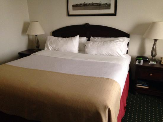 Holiday Inn Montreal Longueuil : Bed