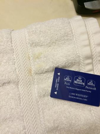 بست ويسترن ريتشفيلد إن: 'fresh' towels