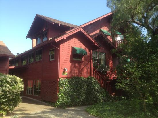 Sonoma Chalet: the main house was built in 1940 by a Swiss family
