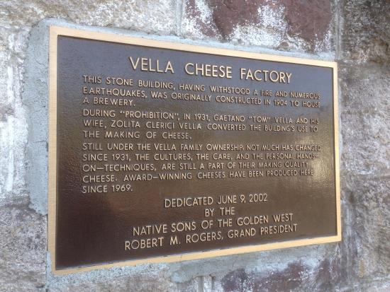 Vella Cheese Company: historic building once a brewery