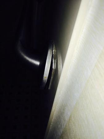 """Fairfield Inn & Suites Beckley: Broken """"safety"""" rail"""