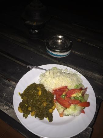Reggae Hostel : When I was there I was very lucky they have free food for dinner, it was really good!
