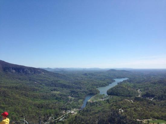 Lake Lure, Carolina del Norte: View from Chimney Rock