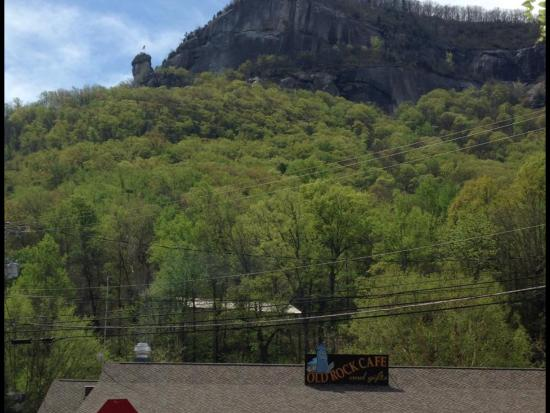 Lake Lure, Carolina del Norte: View of Chimney Rock