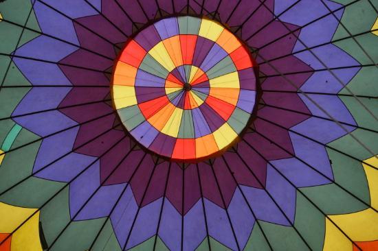 Portland Rose Hot Air Balloons: colors