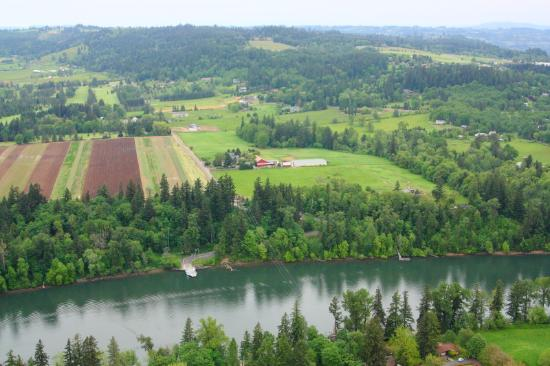 Portland Rose Hot Air Balloons: gorgeous Oregon