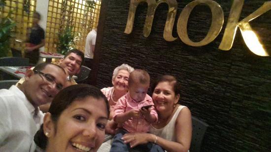 Restaurante Mok by Fuad Akel: Mamá!