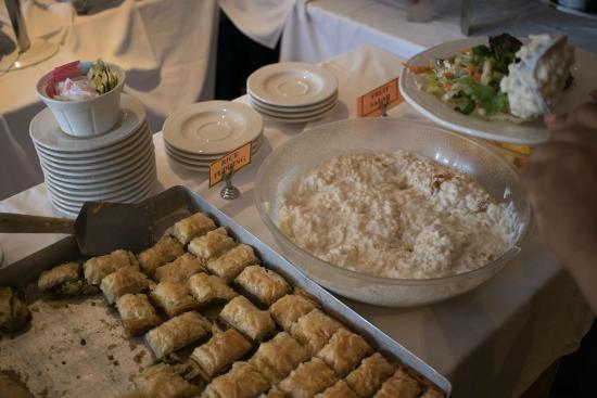 Ayhan's Shish Kebab: Desserts