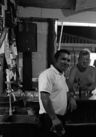 Dorado's Bar Grill: Eli (spelling??) & Harry the regular