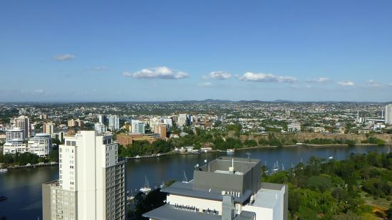 iStay River City: Bedroom balcony view