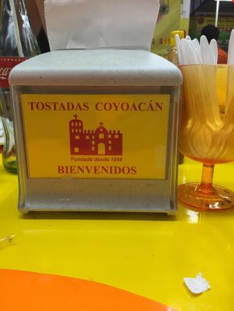 Tostadas de Coyoacan : ��