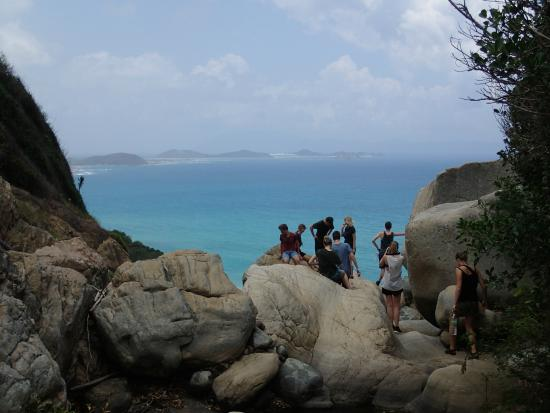 Jungle Beach VietNam: Hike up the mountains with one of the Jungle Beach staff