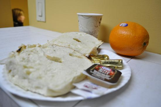 Chelsea International Hostel: Breakfast