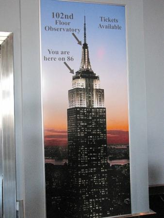 86 102 picture of empire for 102nd floor of the empire state building
