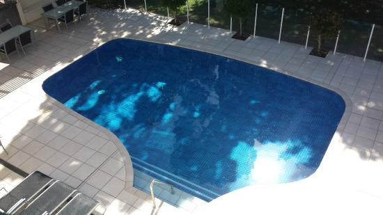 SandCastles Apartments: warm pool