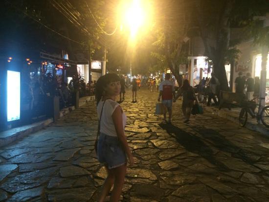 Auberge de la Langouste: Rua das Pedras