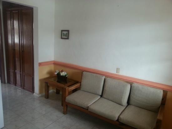 Hotel Vista Caribe: Sitting area