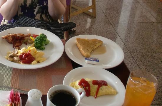 World Cafe: 朝食01