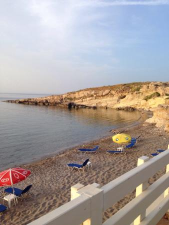 Beach view from Argo