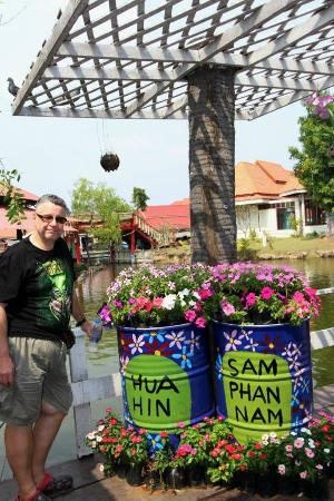 Hua Hin Sam Phan Nam Floating Market: Another photo opportunity location