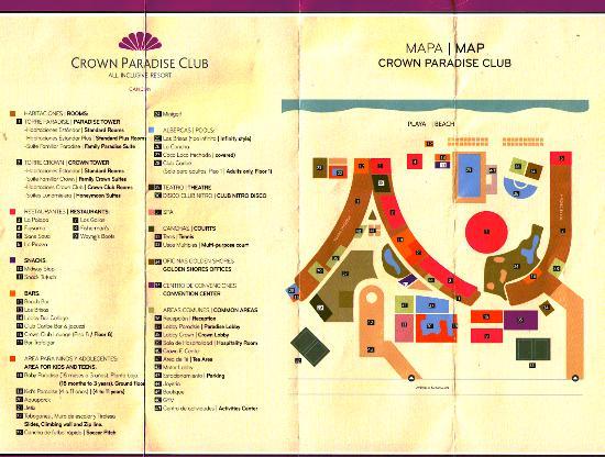 Crown Restaurants Map