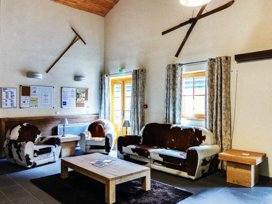 Residence Le Grand Lodge: Salon logement