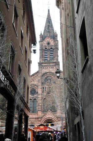 Strasbourg eglise du temple neuf picture of eglise du for Rue du miroir strasbourg