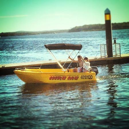 Tin Can Bay, Australia: 4.1m Polycraft Challanger