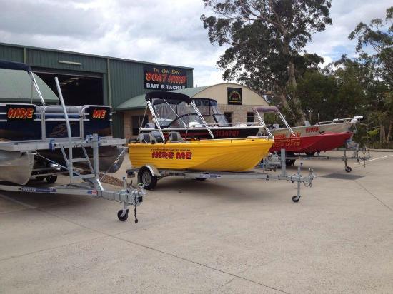 Tin Can Bay Boat Hire: TCBBH Fleet