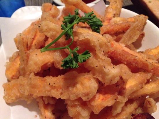Joshu-Ya: Sweet potato fries - tempura style