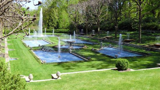 Longwood Gardens: Italian Fountain Gardens