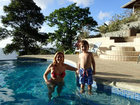 Costa Noreste, Tobago: Pool time