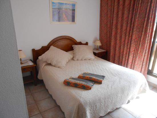 Hotel Les Palmiers: LA CHAMBRE