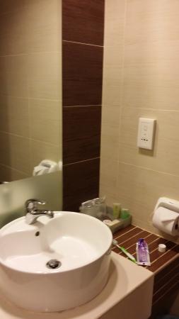 Felda Residence Kuala Terengganu: bathroom view