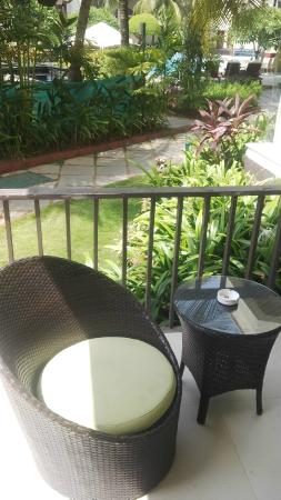 Balcony Chairs Picture Of Royal Orchid Beach Resort Spa Goa