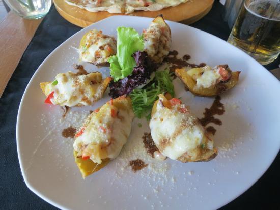 Root & Branch Bali, Bistro & Bar: Potato skins