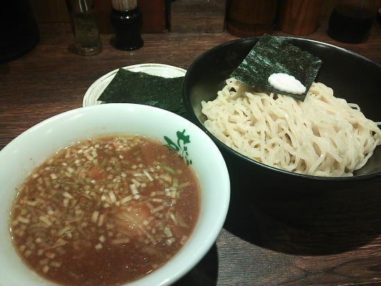 Ramen Setagaya Haneda Airport: 13.02【せたが屋羽田空港】のり玉つけ麺