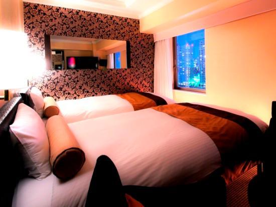 APA Hotel Nihombashi Hamacho Eki Minami: デラックスツインルーム