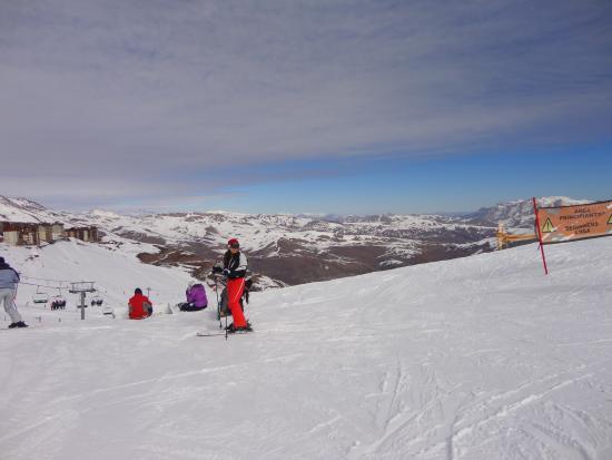 Valle Nevado - Ski Resort Chile: Esquiando