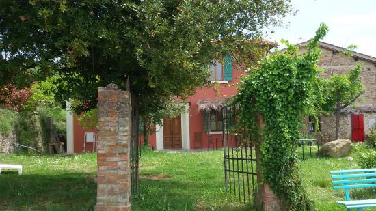 Vicchio, อิตาลี: giardino della Villetta
