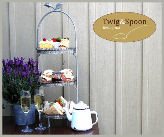Twig and Spoon Restaurant: Kentish Afternoon Tea