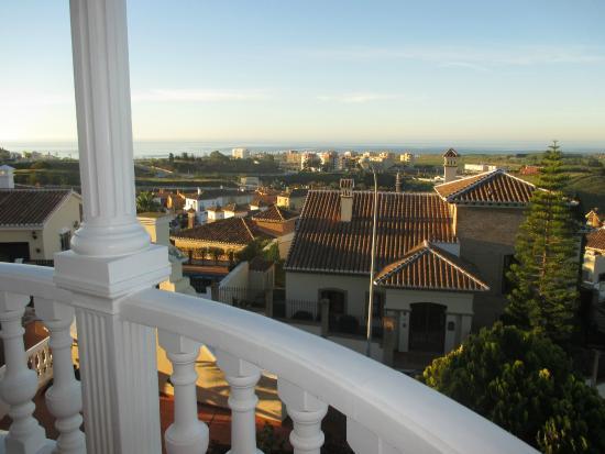 Villa al Alba: Vistas desde la terraza