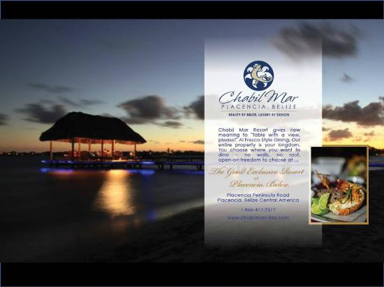 Private Dining on the Pier at Chabil Mar - A Guest Exclusive