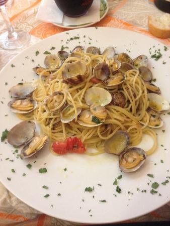 Bar Costantin - La Trattoria : Spaghetti vongole