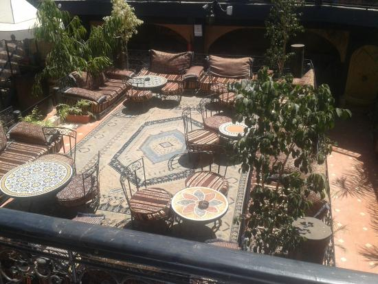 Riad Alamir: Comfortable Terrace
