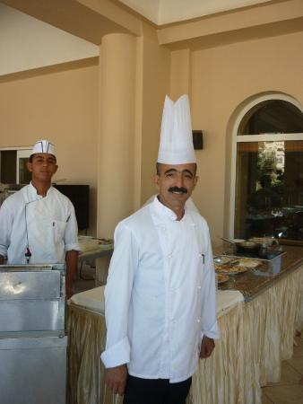 Zita Beach Resort: RESTAURANT - Khaled le grand chef