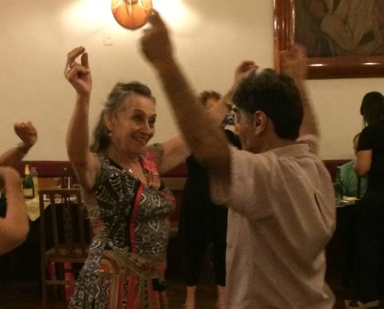La Casa de Maria Tango: Susana and Jose doing Chacarera