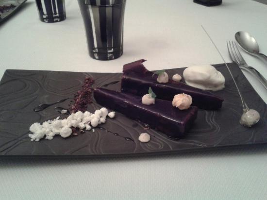 Manoir de la Boulaie : Dessert peu goûteux