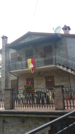 Bed & Breakfast Il Rivo: vista frontale